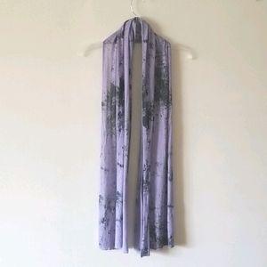 Pretty Soft Hazy Purple Scarf